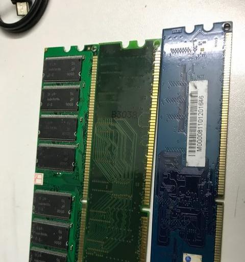 打包价出售台式机电脑内存条DDR2. DDR1共七