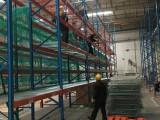 北京旧货架回收,高价回收仓储重型货架,二手托盘及叉车回收