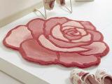 恒亚斯品牌地毯 90cm直径玫瑰花型地毯、地垫玄关地毯 批发