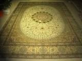 客厅手工真丝地毯古典波斯艺术收藏地毯
