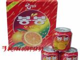 韩国海太饮料批发 海太芦荟、草莓、水蜜桃等各种 238mL每箱7