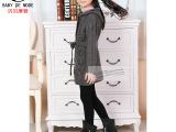 日系一线品牌新款贝贝摩登专柜正品儿童女童装长款外套针织衫毛衣