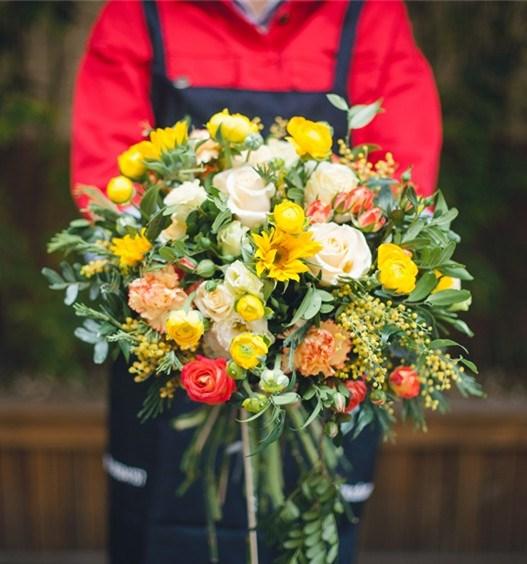 鲜花定制 生日祝福鲜花速递与鲜花礼盒礼品