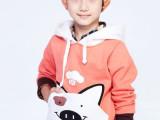 厂家直销 秋款童装织里童装批发 秋款2014新款儿时尚韩版卡通卫