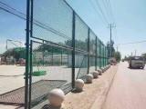 延安市護欄網 足球場圍網 籃球場防護欄訂制加工