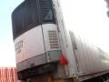 山东出售二手15米冷藏箱半挂车 可提供空车配货