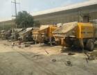 直通厂家拖泵地泵车载泵砂浆泵泵车租赁出租出售