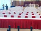 天津专业定做酒店餐椅套桌布台布椅裙等