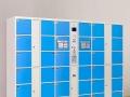 昆明12门电子存包柜24门超市条形码寄存柜36门储物柜指纹刷
