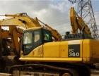 市政工程完工,我公司现低价处理一批原装进口国产合资二手挖掘机