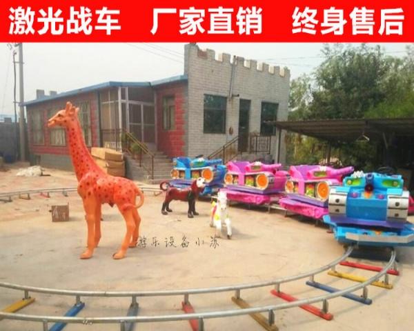 周口豪华轨道火车游乐设备大型广场儿童小火车专业定制