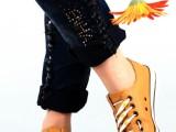 特价热卖 创意V时尚 懒人鞋带 彩色 硅胶鞋带(6根装) 可选色