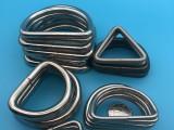 厂家直销 304不锈钢焊接D扣 可来图来样定制 质量可靠