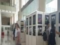 温州书画展板租赁八棱柱展位标摊租赁书画展览展会活动
