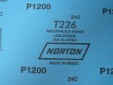 批发原装进口美国诺顿砂纸  干湿两用砂纸  600