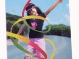 彩带,艺术体操彩带,彩带球,七彩彩带,舞蹈道具,儿童彩丝带