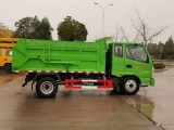 苏州市蓝牌自卸式垃圾车直销价格