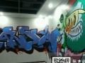 宜昌墙绘 手绘墙 3D 网咖 商场 咖啡 餐饮主题