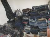 乌鲁木齐牛仔裤批发服装尾货批发10元低价库存外贸牛仔裤批发