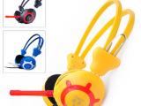 电脑耳机批发网吧耳机耳麦抗暴力布声音大可以按客户要印LOGO