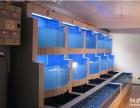 广州星级酒店海鲜池设计制作广州定制酒家饭庄海鲜鱼池制冷工程