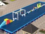 机械水上冲关设备关卡的玩法介绍
