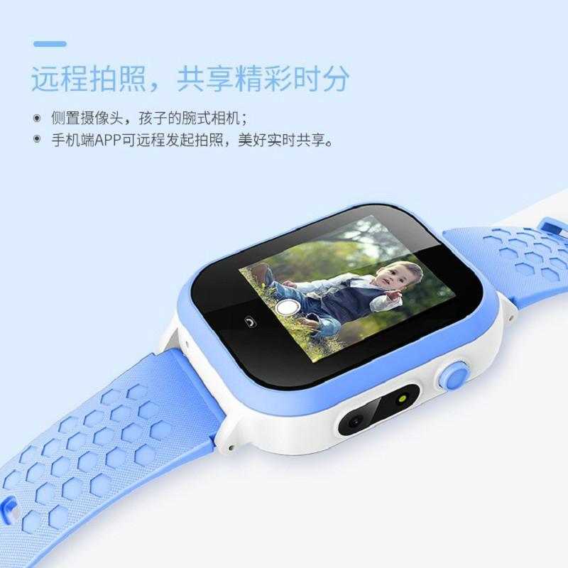 新款防水儿童电话手表定位通话微聊拍照儿童智能电话手表吸磁充电