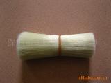 工厂**最新推出 仿猪鬃双头磨尖尼龙刷丝 优质高档纤维刷毛