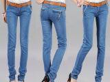 库存女装跑量地摊货源厂家便宜牛仔裤 大量供应厂家女士牛仔裤