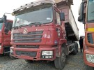 自卸车德龙后八轮5.8米大箱潍柴发动机3年0万公里19万