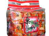 鸿达  酥性饼干 栗蓉饼    500g/包 一箱18包