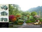度假店景观设计工程,佛山休闲会所景观设计