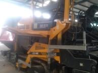 打包转让工作中两台直板三一DTU95摊铺机工作时间短
