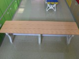 广东塑料更衣凳浴室防潮更衣凳全塑更衣凳厂家批发