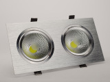 led双头COB天花灯长方形天花灯客厅背景灯嵌入式大功率