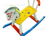 儿童玩具马大号摇马 儿童木马 跷跷马 彩色摇摇马大号木马001