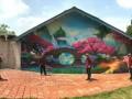 上海嘉定室内墙绘 手绘墙 墙绘公司