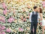 武汉春天拍花海婚纱照