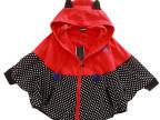 2014新款秋装 阿桑娜A02风格可爱休闲波点斗篷蝙蝠式拉链卫衣