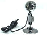 卡丁豆 1200万像素高清免驱动USB电脑摄像头 全金属 带夜视