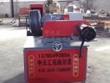 生产定制圆管外圆抛光机 大直径圆管除锈机 多工位抛光机