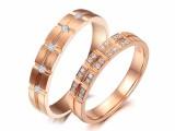武汉久福源珠宝,定制钻戒婚戒对戒,钻石情侣对戒3888元