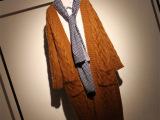 新款复古风长款马海毛大口袋女式针织衫 秋冬宽松加厚针织开衫女
