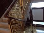山东艺术铝艺楼梯护栏雕刻护栏围栏可定制款式