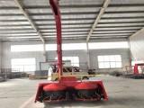 拖拉机带玉米秸秆青储机割台 圆盘式割台青贮机厂家