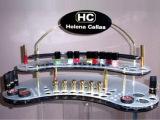 定制亚克力化妆品展示架 透明柜台展示架 亚克力口红展示架