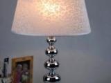 【台灯】绒布灯罩 五金圆球灯具 新款酒店