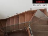 楼梯护栏实木家用成品楼梯楼梯踏步楼梯护栏实木护栏北京嘉馨楼梯