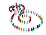 500粒多米诺游戏骨牌 木童木制玩具 早教益智 儿童彩色积木批发