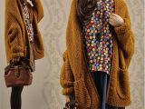 新款秋季韩版女式针织衫V领蝙蝠袖中长款宽松纯色开衫外套批发